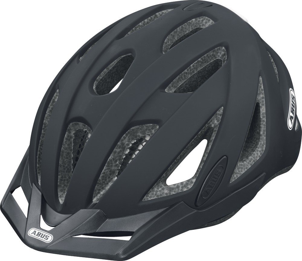 Black Abus Bicycle Helmets