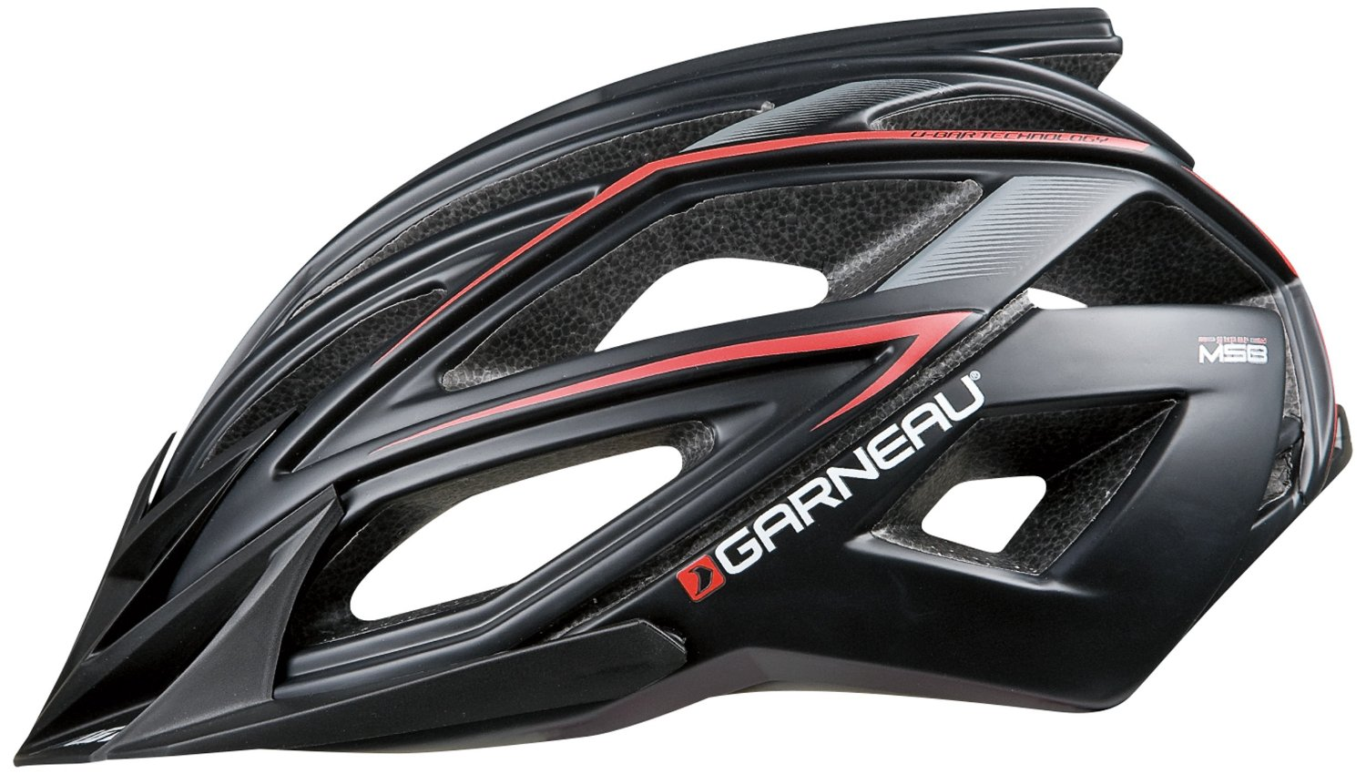 Black Garneau Bicycle Helmets