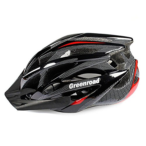 Black GreenRoad Bicycle Helmets