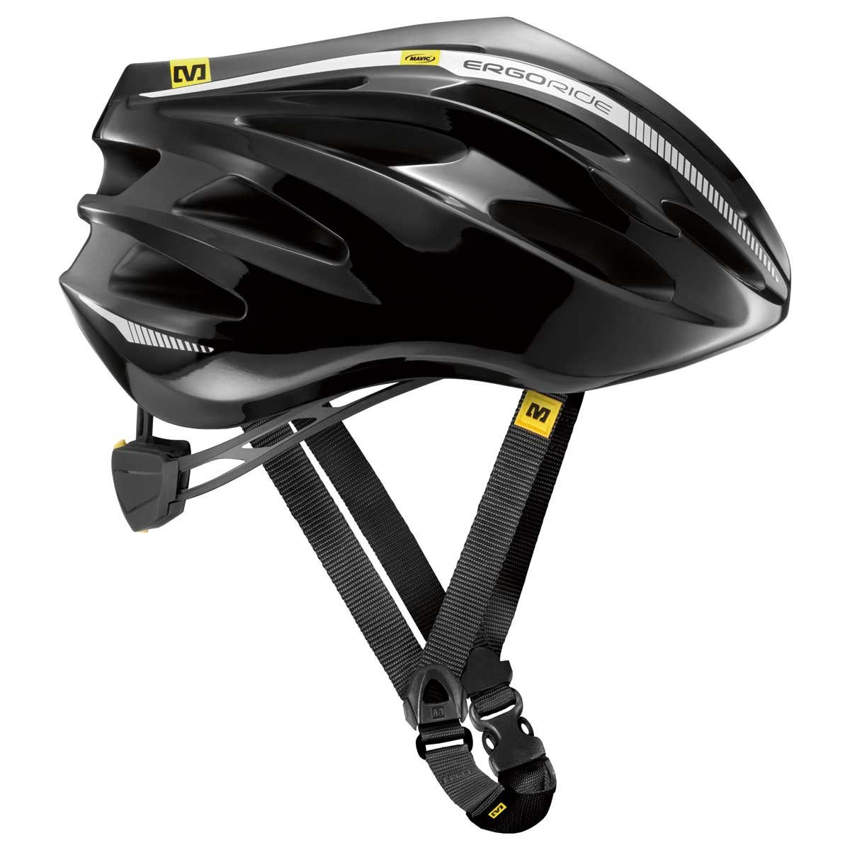 Black Mavic Bicycle Helmets