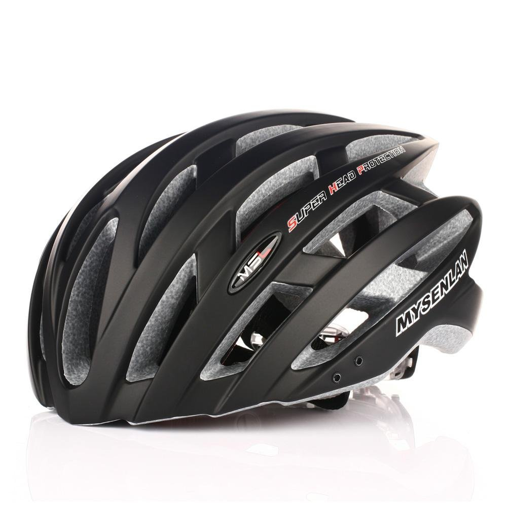 Black Mysenlan Bicycle Helmets