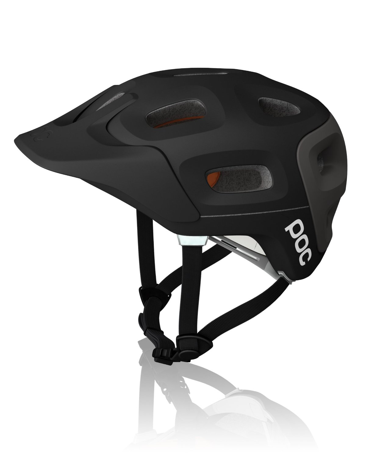 Black POC Bicycle Helmets