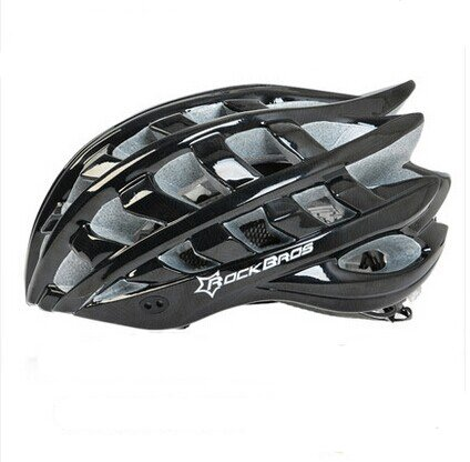 Black RockBros Bicycle Helmets