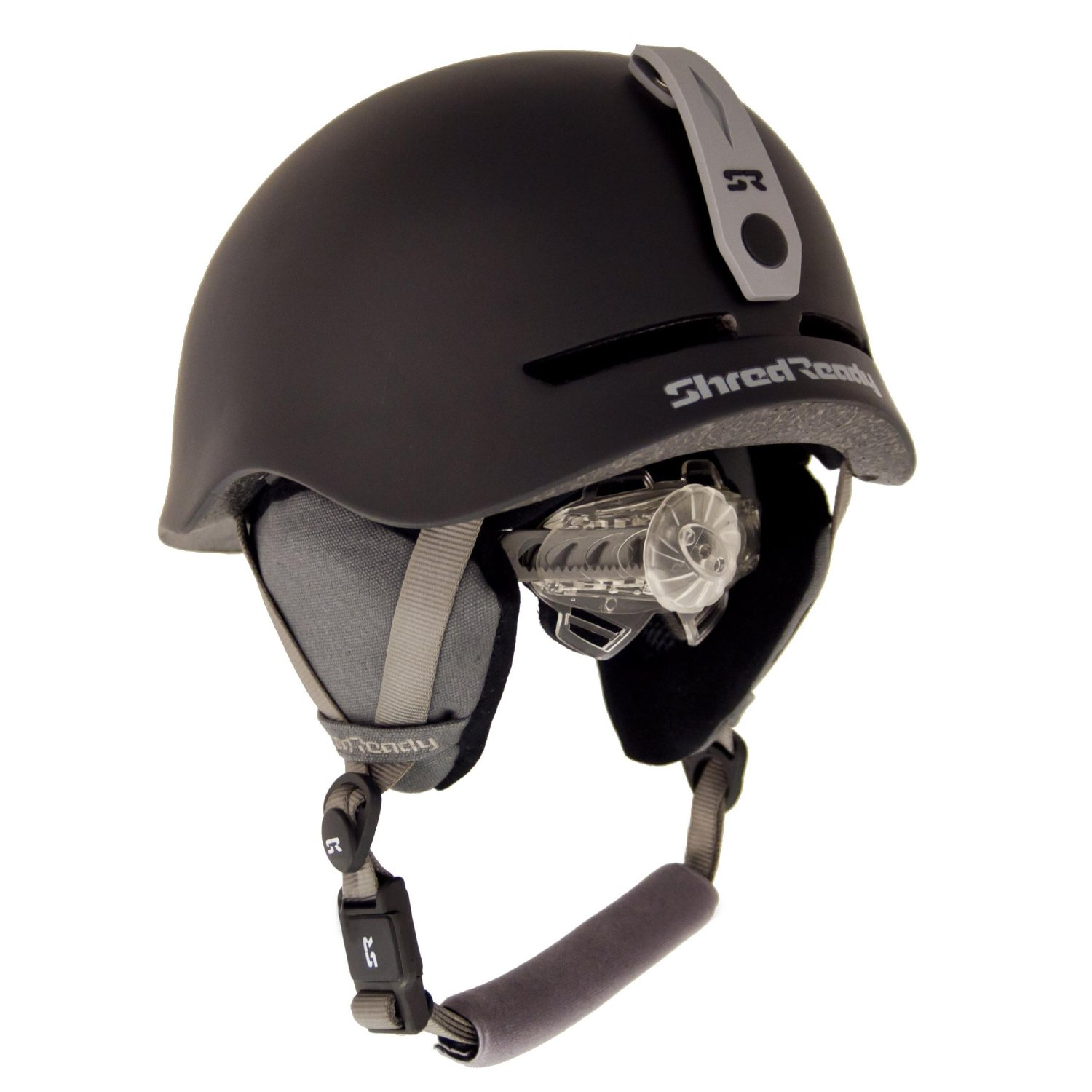 Black Shred Ready Bicycle Helmets