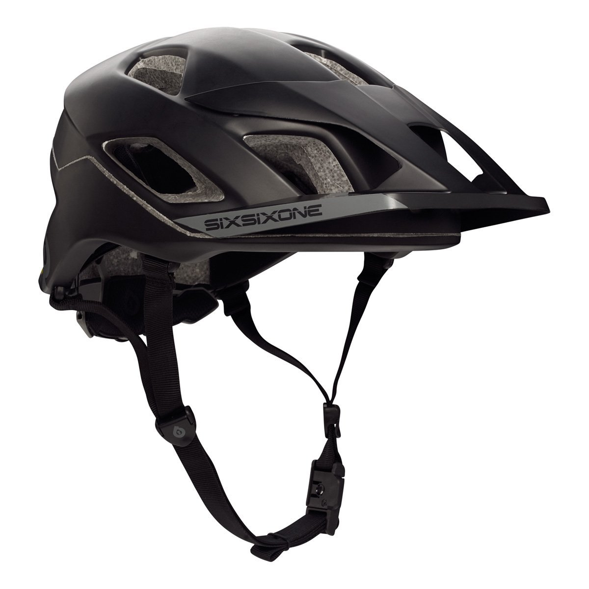 Black SixSixOne Bicycle Helmets
