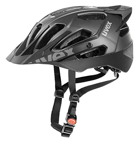 Black Uvex Bicycle Helmets