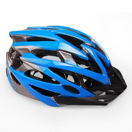Blue 99 Parts Bicycle Helmets