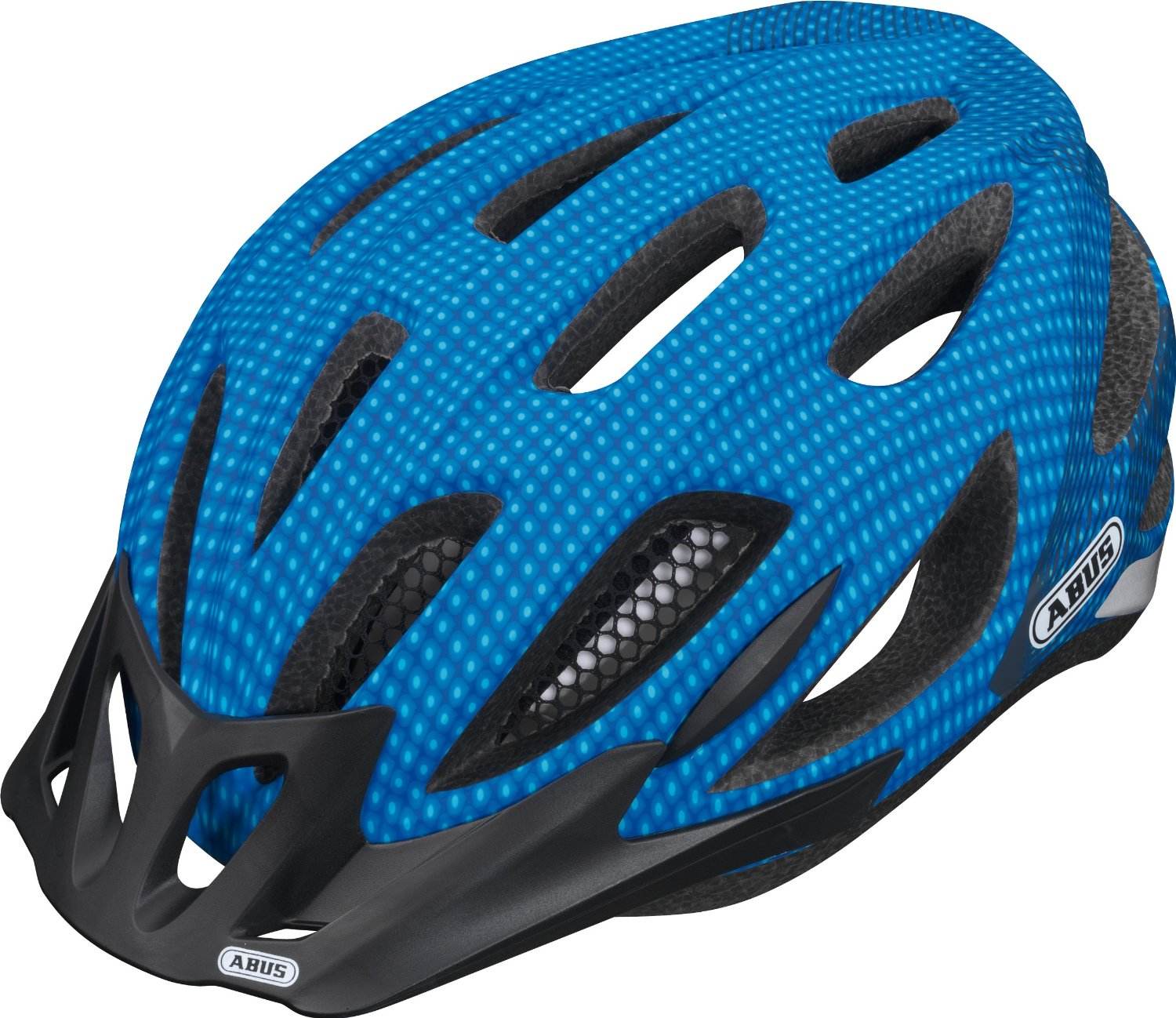 Blue Bicycle Helmets