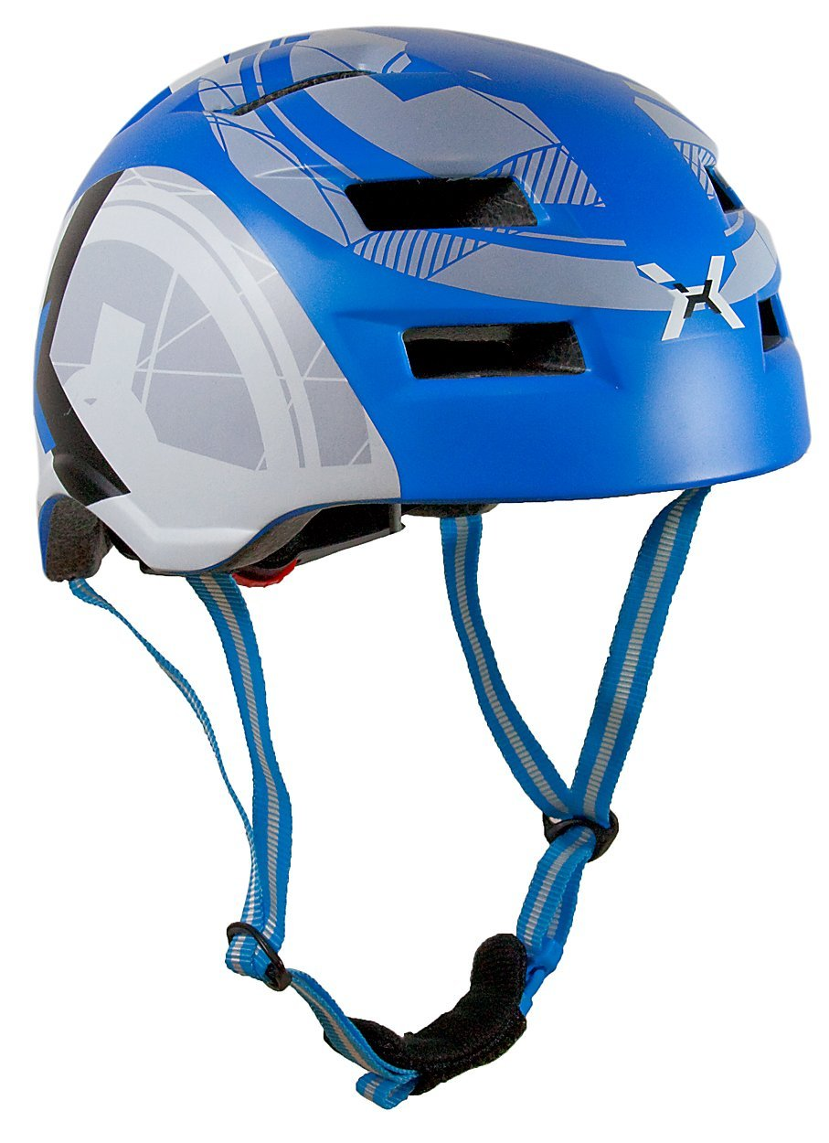 Blue AWE Bicycle Helmets