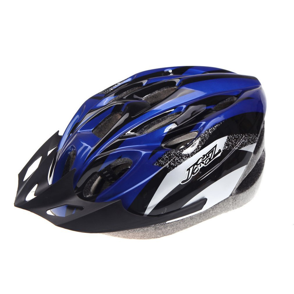 Blue B&F Bicycle Helmets
