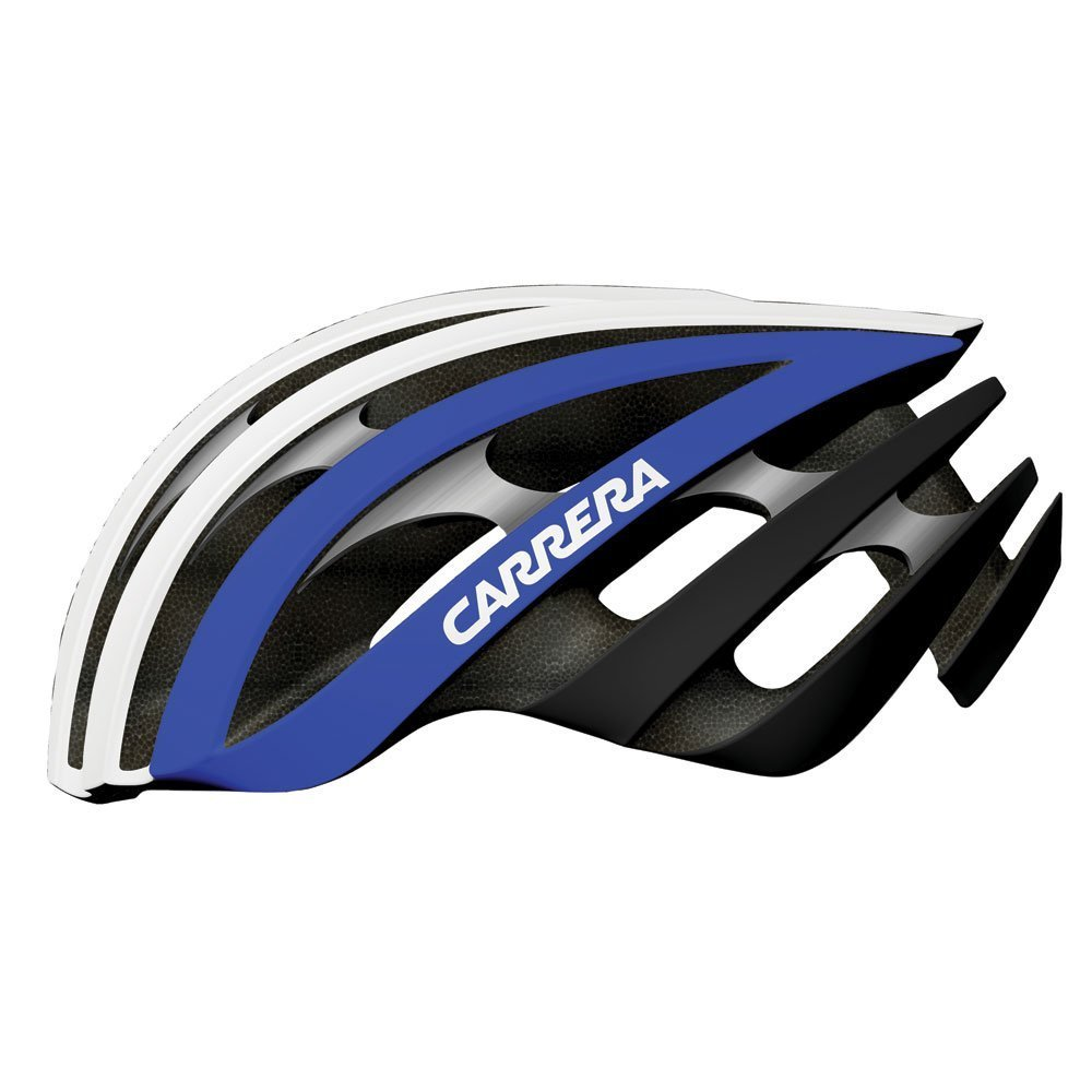 Blue Carrera Bicycle Helmets