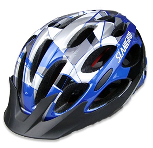 Blue Coface Bicycle Helmets