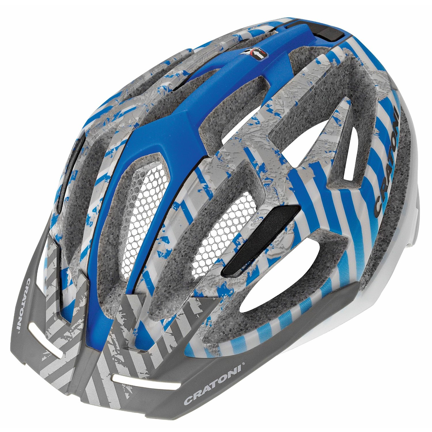 Blue Cratoni Bicycle Helmets