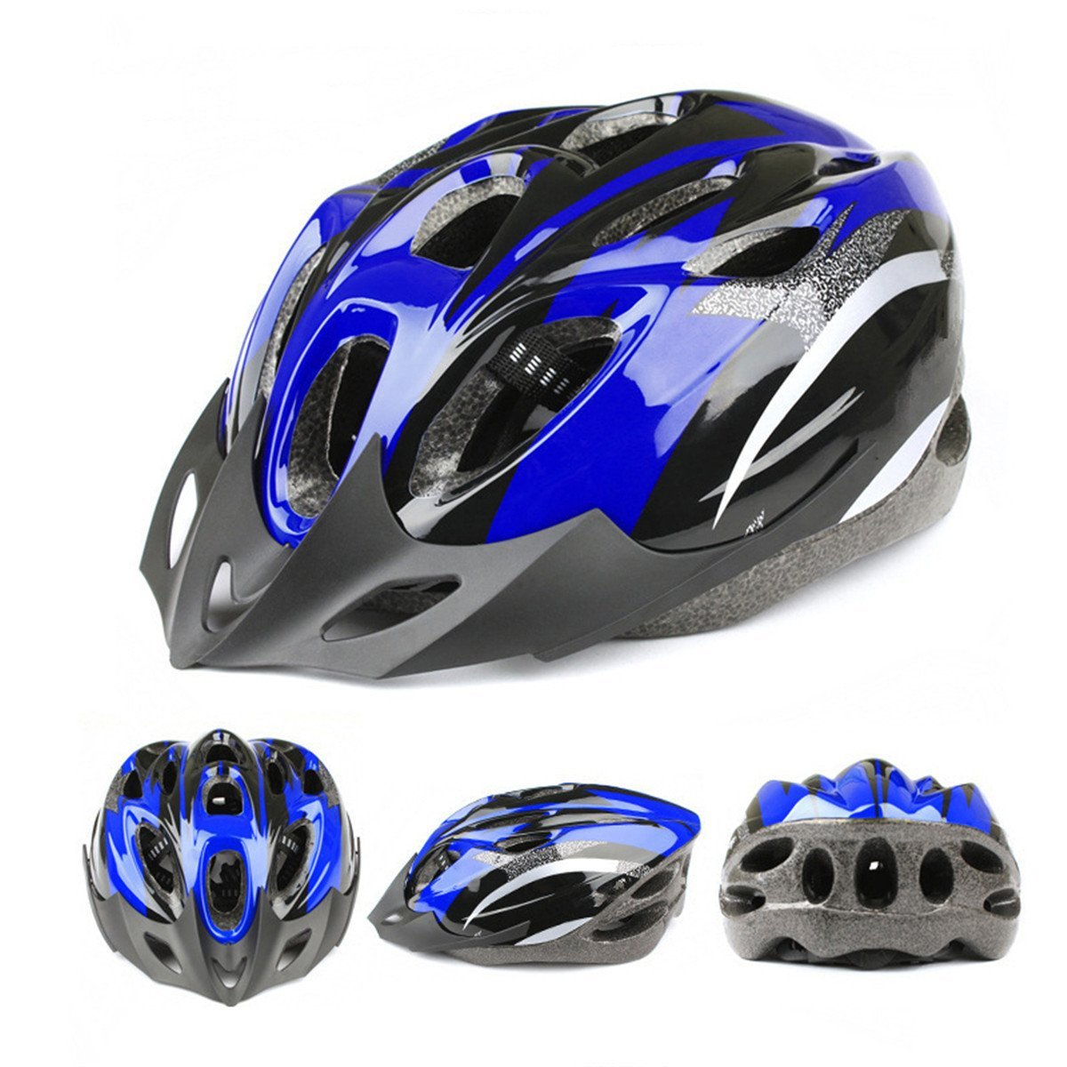 Blue ECYC Bicycle Helmets