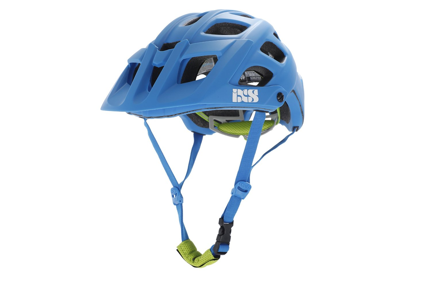 Blue IXS Bicycle Helmets