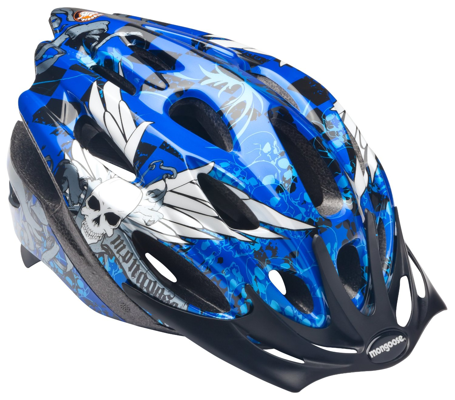 Blue Kids & Youth Mongoose Bicycle Helmets