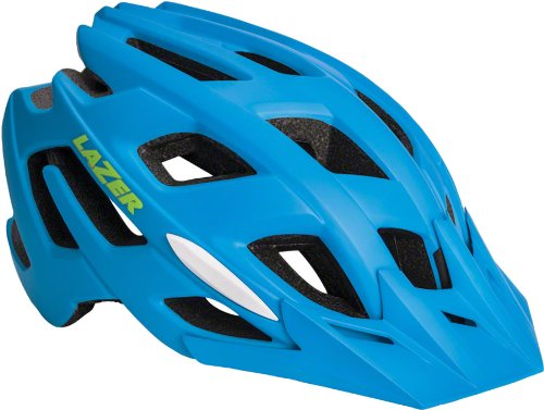Blue Lazer Bicycle Helmets