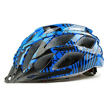 Blue MCH-Outdoors Bicycle Helmets