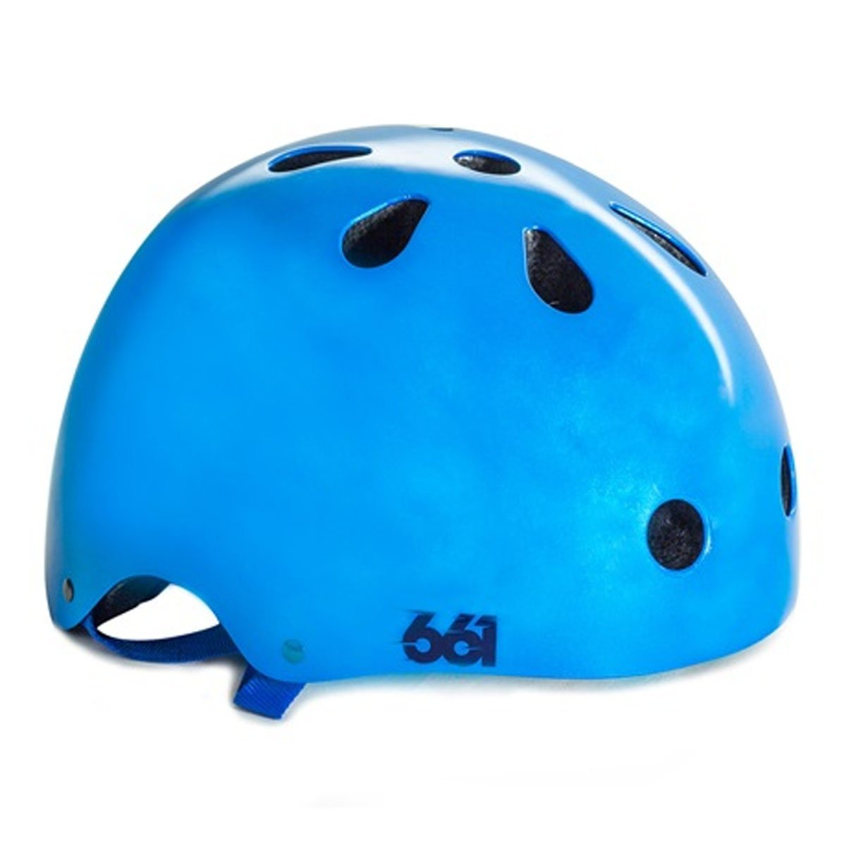Blue SixSixOne Bicycle Helmets