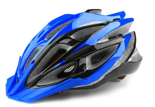 Blue Tourequi Bicycle Helmets