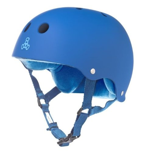 Blue Triple Eight Bicycle Helmets