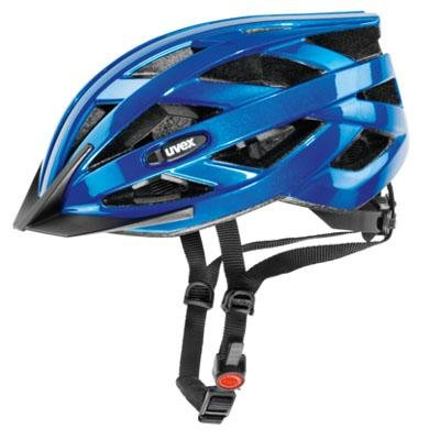 Blue Uvex Bicycle Helmets