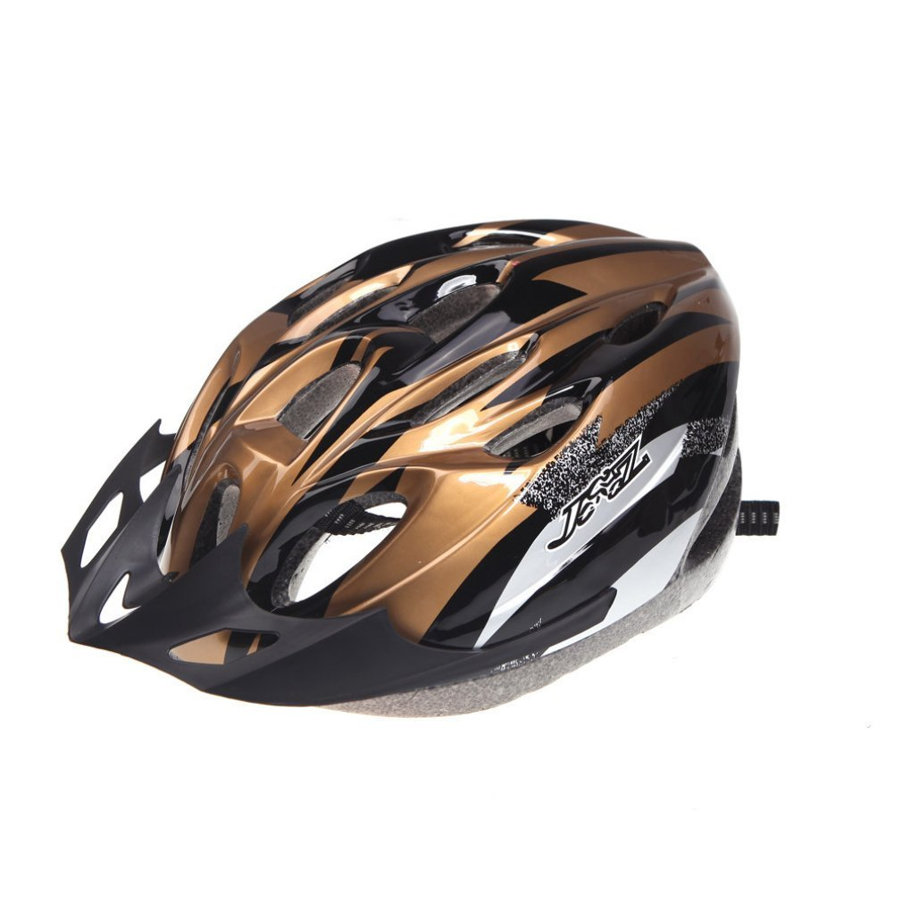 Gold B&F Bicycle Helmets