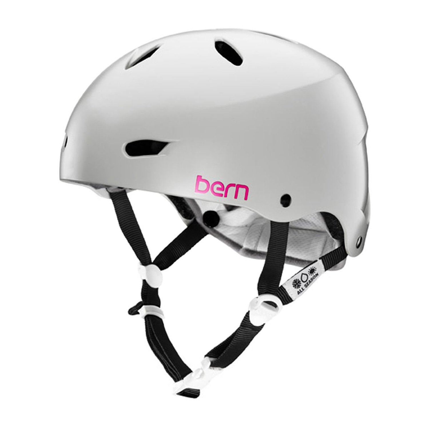 Gray Bern Bicycle Helmets