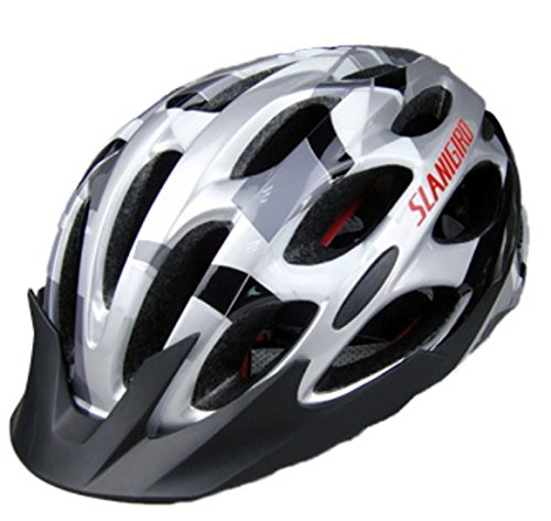 Gray Bicycle Helmets