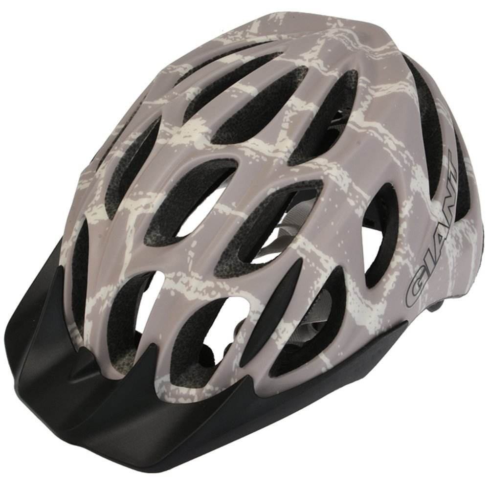Gray Giant Bicycle Helmets