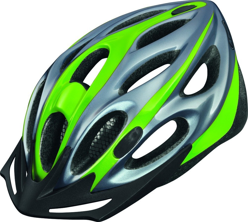 Green Abus Bicycle Helmets