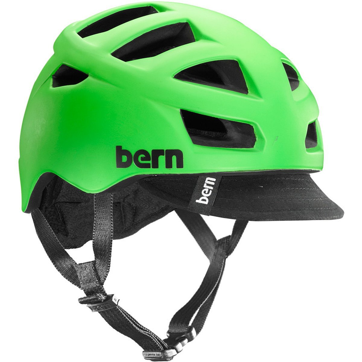 Green Bern Bicycle Helmets
