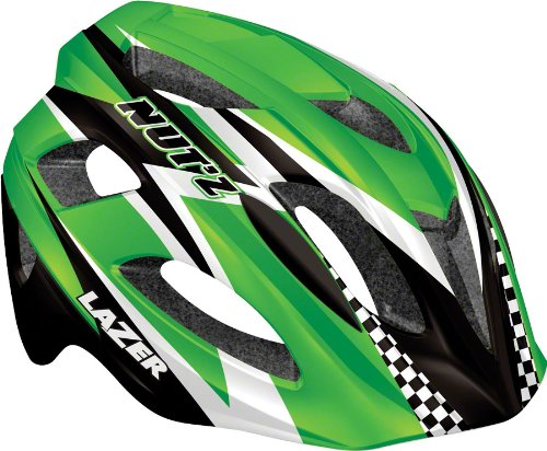 Green Lazer Bicycle Helmets