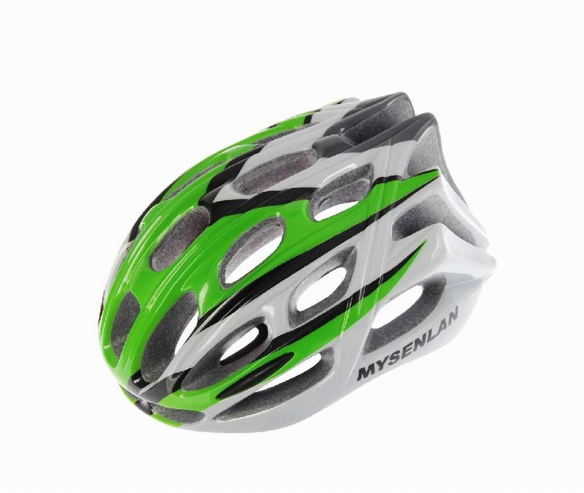 Green Mysenlan Bicycle Helmets