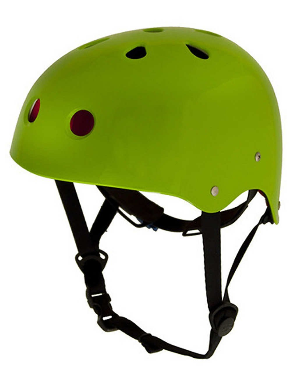 Green Shred Ready Bicycle Helmets