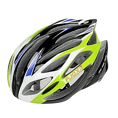 Green SJ-Outdoors Bicycle Helmets
