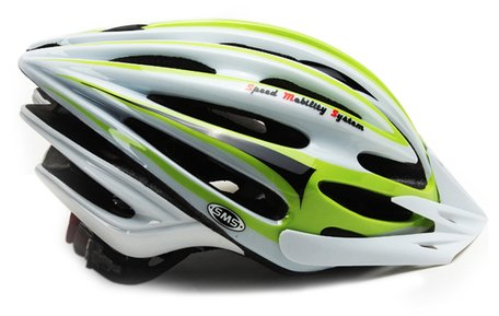 Green Sms Bicycle Helmets