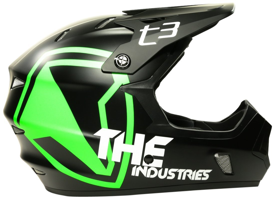 Green THE Industries Bicycle Helmets