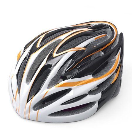Orange 99 Parts Bicycle Helmets