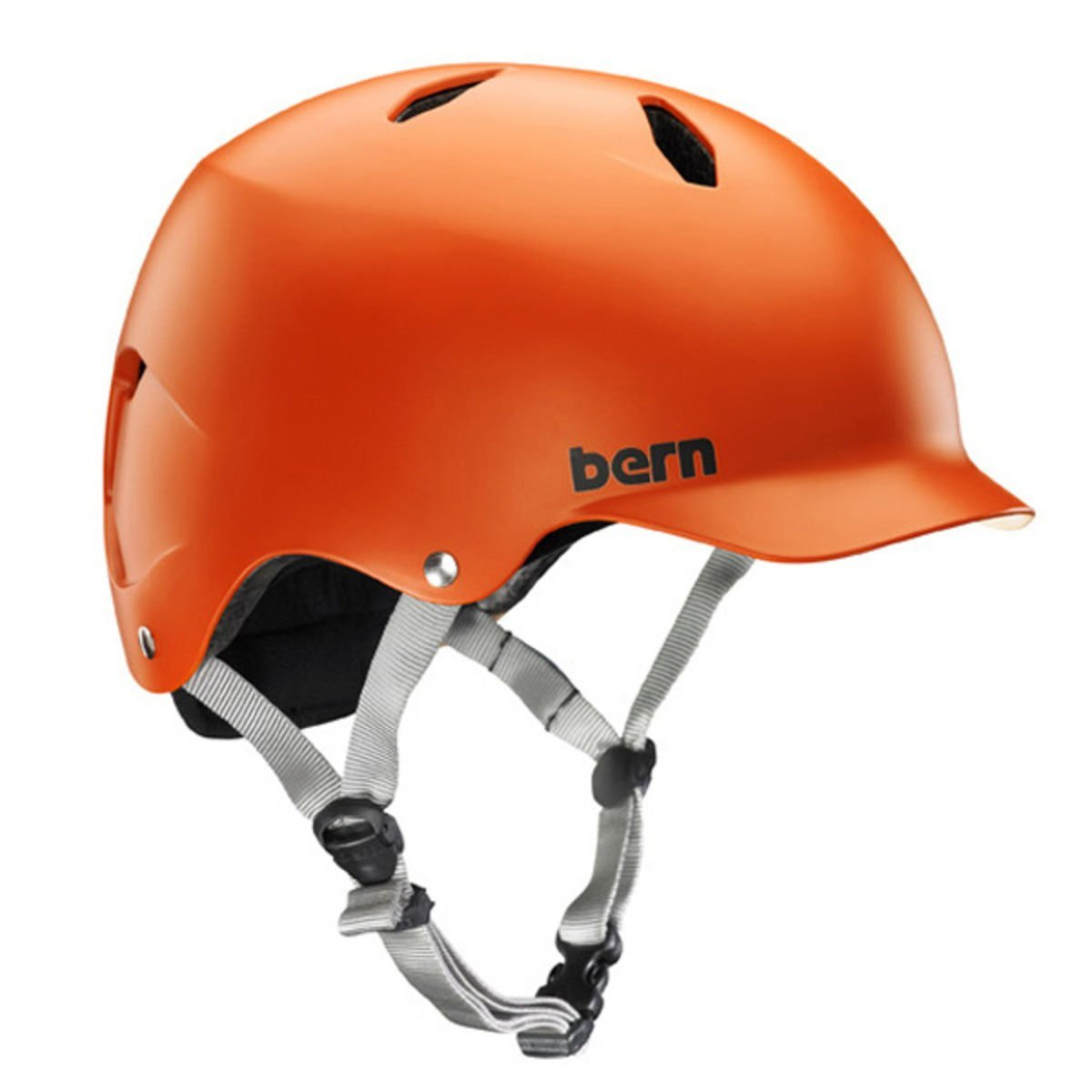 Orange Bern Bicycle Helmets