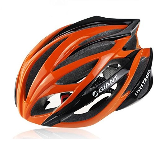 Orange Giant Bicycle Helmets