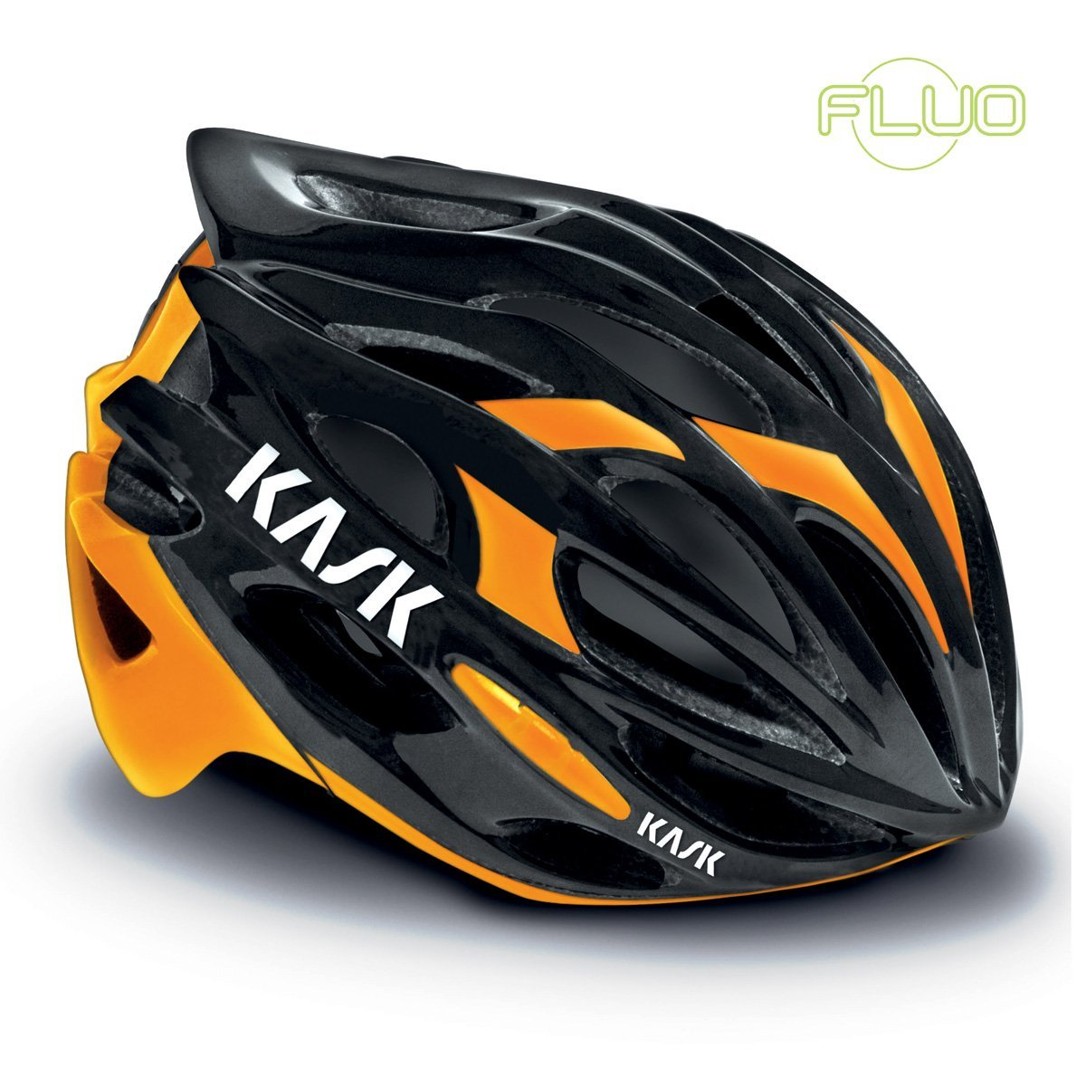 Orange Kask Bicycle Helmets