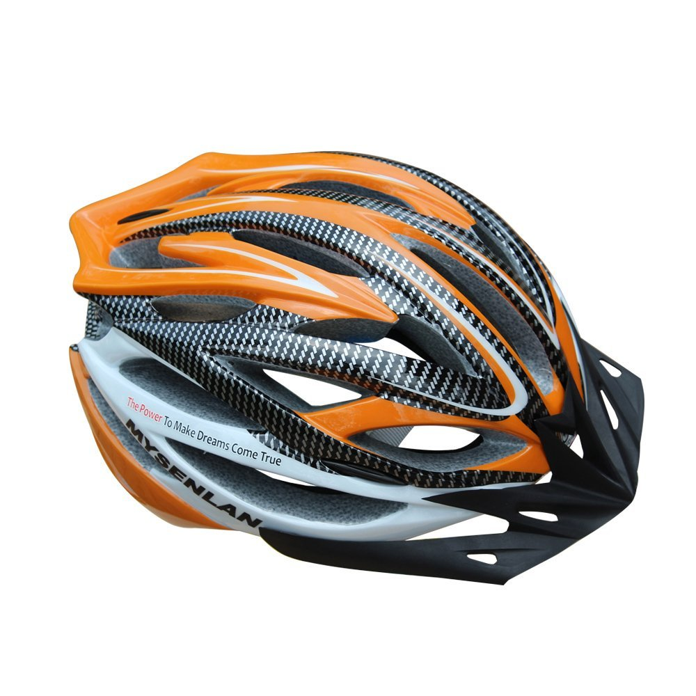 Orange Mysenlan Bicycle Helmets