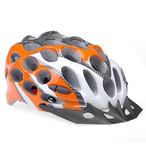Orange Phgiveu Bicycle Helmets