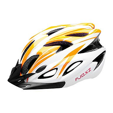 Orange SJ-Outdoors Bicycle Helmets