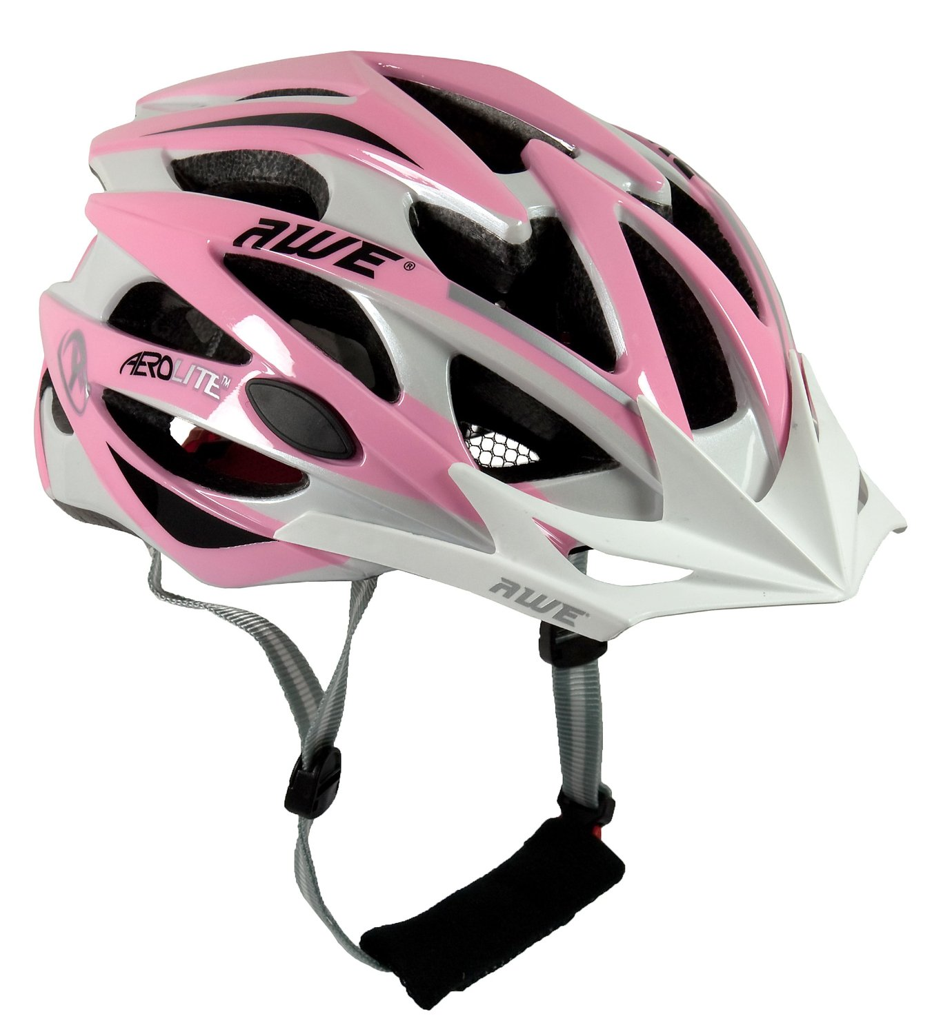 Pink AWE Bicycle Helmets