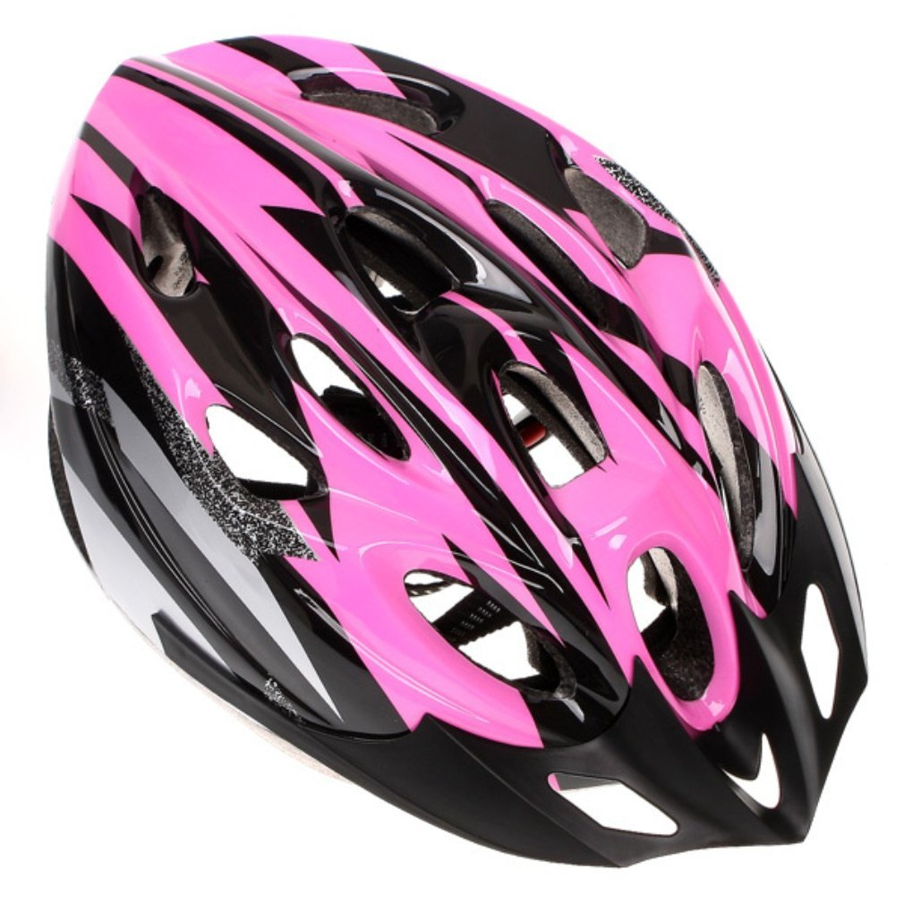 Pink B&F Bicycle Helmets