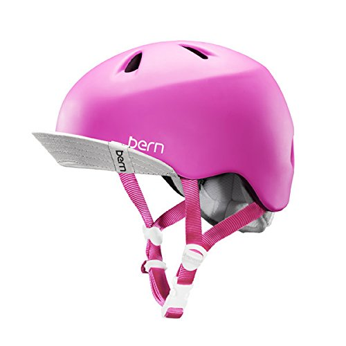 Pink Bern Bicycle Helmets