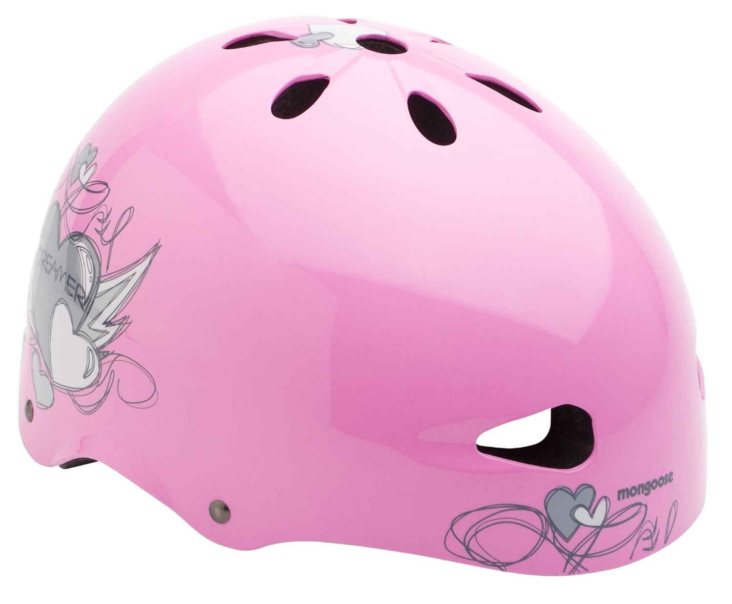 Pink Kids & Youth Mongoose Bicycle Helmets