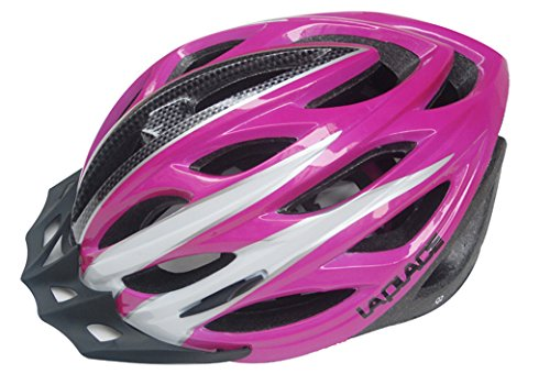 Pink Laplace Bicycle Helmets